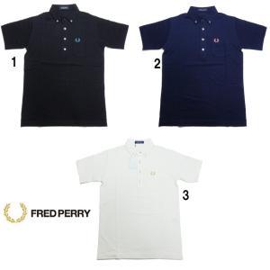フレッドペリー メンズ ボタンダウン ポロシャツ F1819 ボタン糸 配色 FRED PERRY 2020 progres