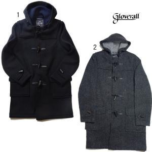 GLOVERALL グローバーオール ダッフルコート ロング 920 PW01 圧縮ウール コート ジャケット|progres