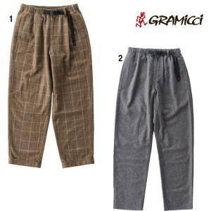 グラミチ GRAMICCI ウールブレンドタックテーパードパンツ ロングパンツ チェックパンツ 無地パンツ メンズ GMP-19F010|progres