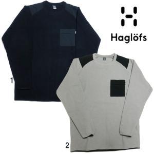 HAGLOFS ホグロフス マイクロ フリース プルオーバー メンズ  ポケ付 カットソー 931503|progres
