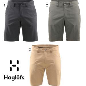 HAGLOFS ホグロフス ナイロン ショートパンツ ショーツ メンズ Mid Solid Shorts Men ハーフパンツ 603794|progres