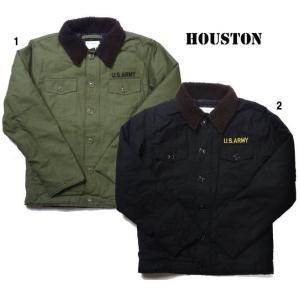 HOUSTON ヒューストン  ミリタリーボア シャツ ジャケット ボアジャケット 50272 progres
