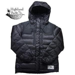 Highland Park ハイランドパーク ブレスサーモ ダウンジャケット D2JE5501 ダウンパーカー ブラック メンズ|progres