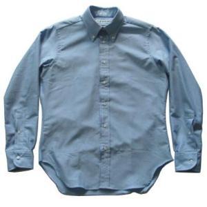 INDIVIDUALIZED SHIRTSインディビジュアライズドシャツ Pima OX スリムフィット blue|progres