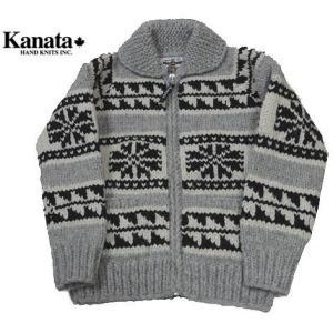 KANATA カナタ カウチン セーター 雪柄 タイトタイプ メンズ&レディース|progres