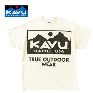 KAVU カブー メンズ ビッグロゴTシャツ BIGロゴ プリント XL|progres