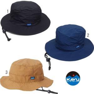 KAVU カブー シンセティック ストラップ バケットハット メンズ レディース 帽子 無地 ハット HAT progres