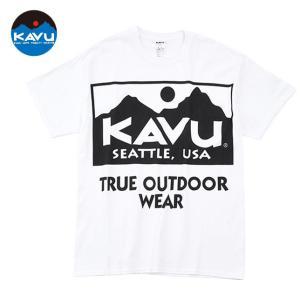 KAVU カブー メンズ ビックロゴTシャツ プリントTシャツ progres