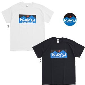 KAVU カブー メンズ バラードTee Tシャツ プリントTシャツ ボックスロゴ|progres