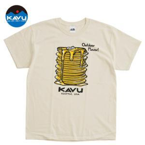 KAVU カブー メンズ パンケーキTシャツ プリントTシャツ|progres