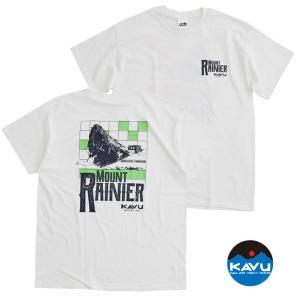 KAVU カブー メンズ レイニア02Tee Tシャツ プリントTシャツ バックプリント|progres