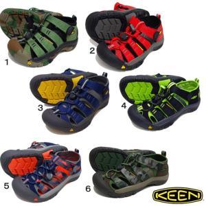 KEEN キーン NEWPORT H2 キッズ サンダル ニューポート H2  水遊びやウォーキング...