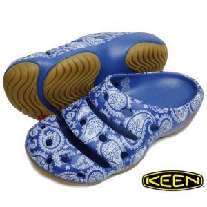 KEEN キーン Yogui Arts×THC ヨギ ウォーターサンダル メンズ レディース ブルーペイズリー BLUE RAVEN PAISLEY|progres