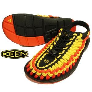 KEEN キーン UNEEK FLAT ユニーク フラット サンダル メンズ アウトドア サンダル スポーツサンダル|progres