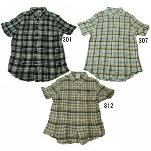 【SALE】 Lee チェックボタンダウンシャツ 19445 シワ加工 全3パターン  progres