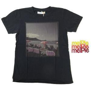 melple メイプル Tシャツ Hawaii Beach プリント TEE HW10|progres