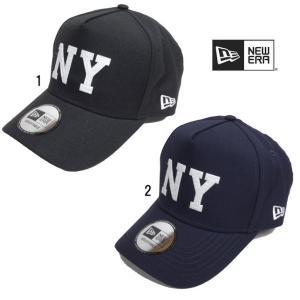 ニューエラ メンズ キャップ 9FORTY D-Frame NY フェルトパッチ Newera CAP 帽子|progres