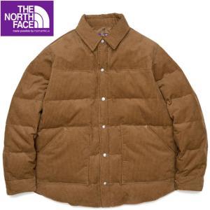 ノースフェイスパープルレーベル コーデュロイ ダウンシャツジャケット Corduroy Down Shirt Jacket ND2154N progres