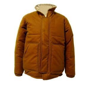 RYANN BRIGGS オイルド中綿ジャケット キャメル|progres