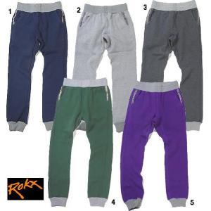 ROKX  ロックス SWEAT PANT チロリアンテープ スエットパンツ スウェットパンツ ロング パンツ|progres