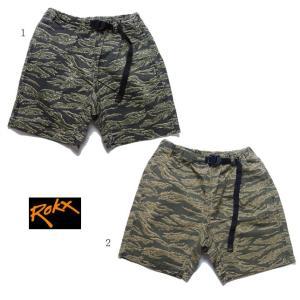 ROKX TIGER SHORT ロックス タイガーショーツ タイガーカモ柄 ショートパンツ RXMS561|progres