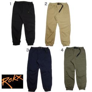 ROKX ロックス コットンウッド スリム スパント クロップドパンツ 8分丈 半端丈 メンズ パンツ COTTONWOOD SLIM SPANT|progres