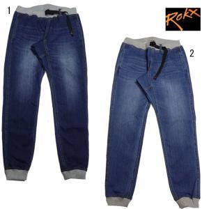 ロックス エムジー デニム ウッド パンツ ROKX MG DENIM WOOD PANT ロングパンツ リブパンツ RXMS191023|progres