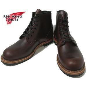 RED WING レッドウィング レッドウイング ベックマンブーツ 9016 プレーントゥー シガー ブラウン ワークブーツ 6インチ|progres