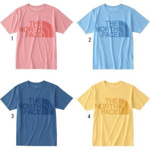 ノースフェイス Tシャツ メンズ ショートスリーブカラーヘザーロゴティー 杢 半袖 NT31854 THE NORTH FACE|progres