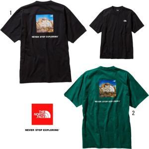 ノースフェイス ショートスリーブ スクエアロゴ ジョシュアツリーティー メンズ THE NORTH FACE NT31952 半袖 Tシャツ|progres