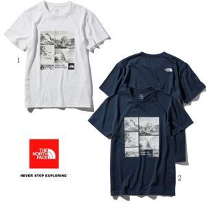 ノースフェイス ショートスリーブ フォトロゴティー メンズ 半袖 プリントTシャツ NT31933|progres