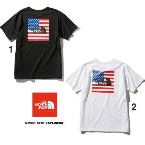 ノースフェイス THE NORTH FACE Tシャツ ショートスリーブナショナルフラッグティー メンズ NT32053|progres
