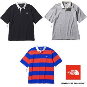 ノースフェイス ショートスリーブラグビーポロ メンズ 半袖 ラガーシャツ NT22035 progres
