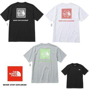 ノースフェイス THE NORTH FACE Tシャツ ショートスリーブバンダナスクエアロゴティー メンズ NT32108|progres