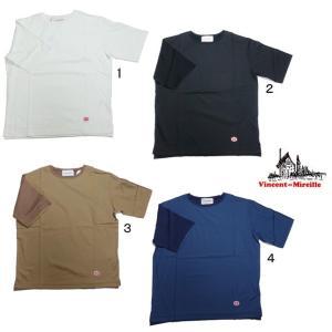 VINCENT ET MIREILLE ヴァンソン エ ミレイユ COMBINATION 5/S コンビネーション 半袖 Tシャツ カットソー デザインTシャツ|progres