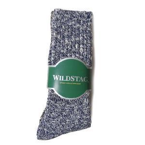 WILD STAG ワイルドスタッグ 3P ソックス スラブ  ロングソックス 靴下 2265|progres