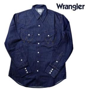 Wrangler ラングラー デニム BLUE BELL ウエスタンシャツ ワンウオッシュ progres