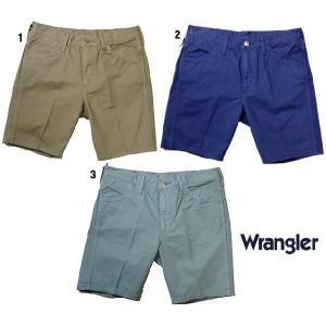 Wrangler ラングラー US オリジナル テーパー ショーツ ショートパンツ  メンズ progres