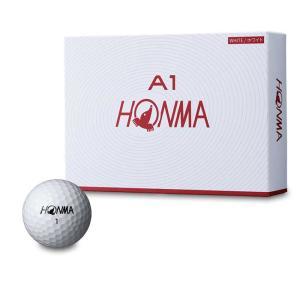ホンマ ゴルフ ボール A1 日本正規品 柔らかい 打感 猛烈な スピン 圧倒的な 飛距離