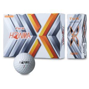 ホンマ HONMA ゴルフボール TW-X 日本正規品  ゴルフ TOURWORLD