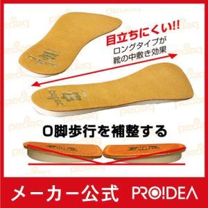 ペダックプラスワン O脚用インソール O脚 中敷き インソール  プロイデア 【メール便OK-2】|proidea