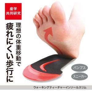 広島大学と共同開発した歩行補整インソール   ぷにゅぷにゅゲルのラインが体重移動を無意識に誘導!  ...