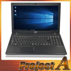 訳あり 中古パソコン ノートパソコン 本体 ノートPC Windows10 acer TMP453M-W54D 第3世代 Core i5 2.60GHz 500GB 4GB USB3.0 HDMI Webカメラ テンキー 0269|project-a