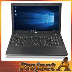 訳あり 中古パソコン ノートパソコン 本体 ノートPC Windows10 acer TMP453M-A54D 第3世代 Core i5 2.50GHz 500GB 8GB USB3.0 HDMI Webカメラ テンキー 0299|project-a