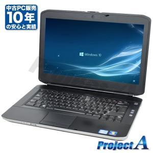 中古 ノートパソコン ノートPC HDD320GB メモリ4GB Windows10 Windows7 Office2016 A4 14.1型 Corei5 DVDROM 無線 DELL Latitude E5430 project-a