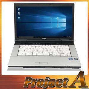 中古パソコン ノートパソコン 本体 ノートPC Windows10 富士通 E741/D 第2世代 Core i7-2640M 2.80GHz SSD128GB 8GB ブルーレイ HDMI メモリースロット 0360|project-a