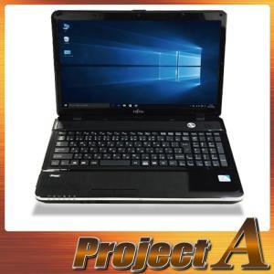 中古パソコン ノートパソコン 本体 ノートPC Windows10 富士通 AH30/K 第2世代 Celeron 1.80GHz 320GB 4GB HDMI Webカメラ マルチ 無線 テンキー Bluetooth 0364|project-a