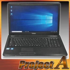 中古パソコン ノートパソコン 本体 ノートPC Windows10 東芝 B371/C 第2世代 Core i5 2.50GHz 250GB 4GB マルチ 無線 HDMI テンキー 17.3型液晶 0380|project-a