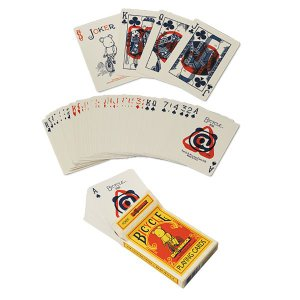 BE@RBRICK BICYCLE PLAYING CARDS|project1-6