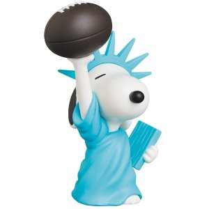 UDF PEANUTS シリーズ9 STATUE OF LIBERTY SNOOPY《2019年4月発売予定》|project1-6